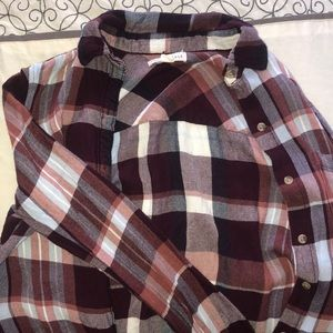 fall flannel from aeropostale